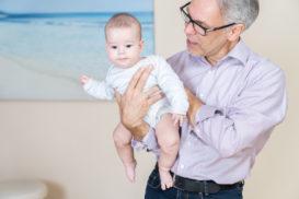 Osteopathische Behandlung von Babys und Söuglingen