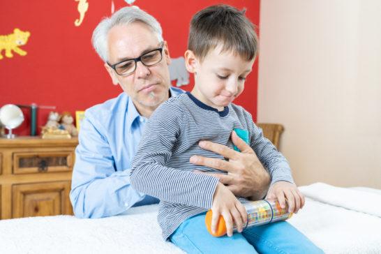Kinderosteopathie in der Praxis Osteopathie Kraichgau